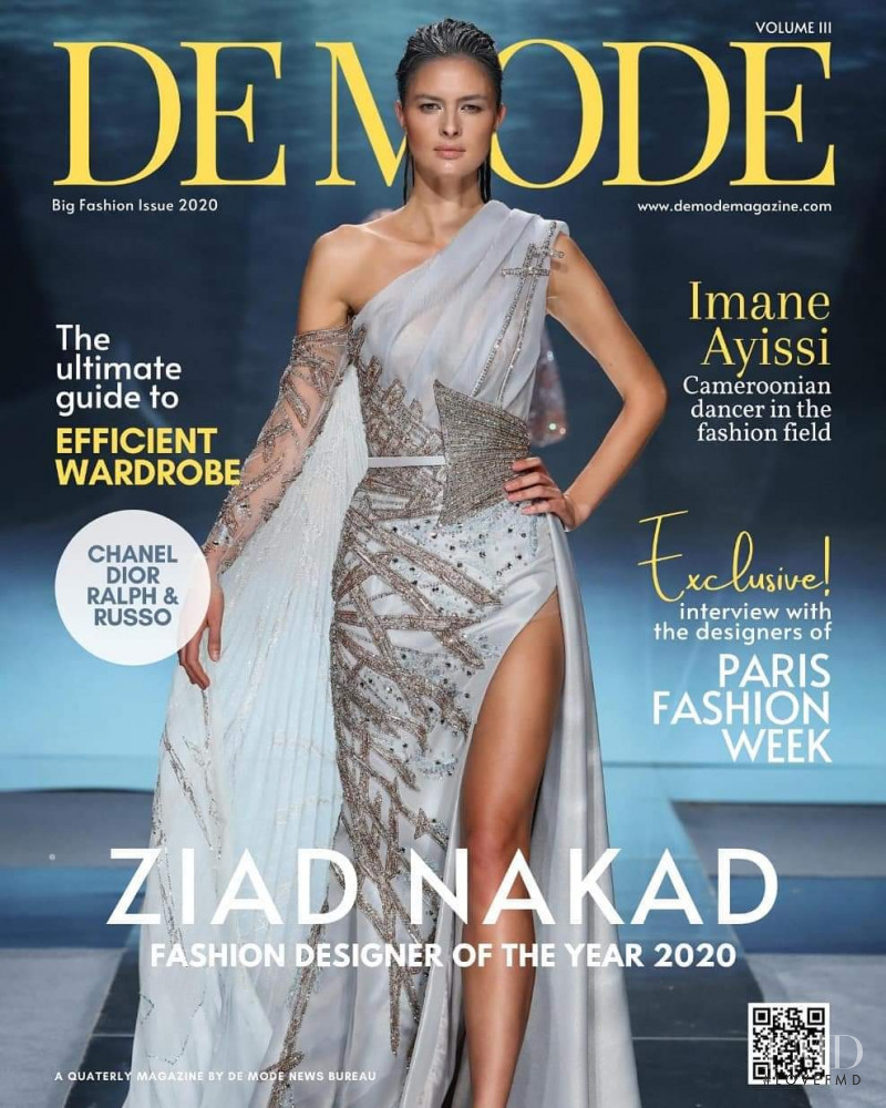 featured on the De Mode cover from September 2020