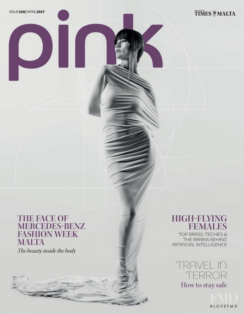 Bojana Milojevic featured on the Pink Malta cover from April 2017