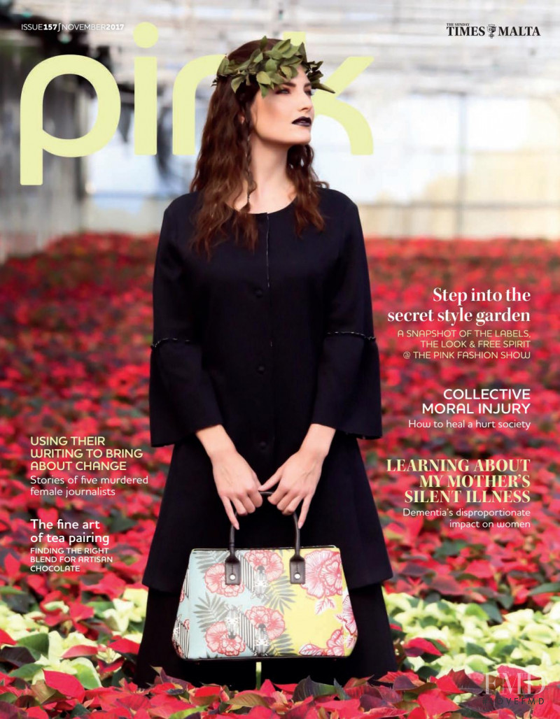 Ida featured on the Pink Malta cover from November 2017
