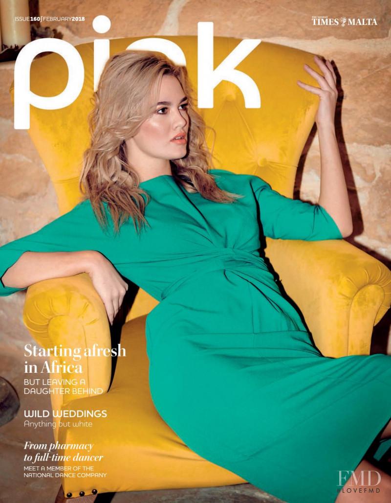 Biljana Bibi Boric featured on the Pink Malta cover from February 2018
