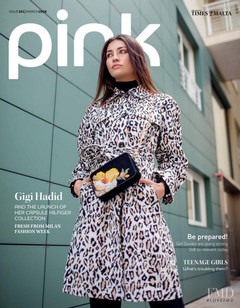 Merve featured on the Pink Malta cover from March 2018