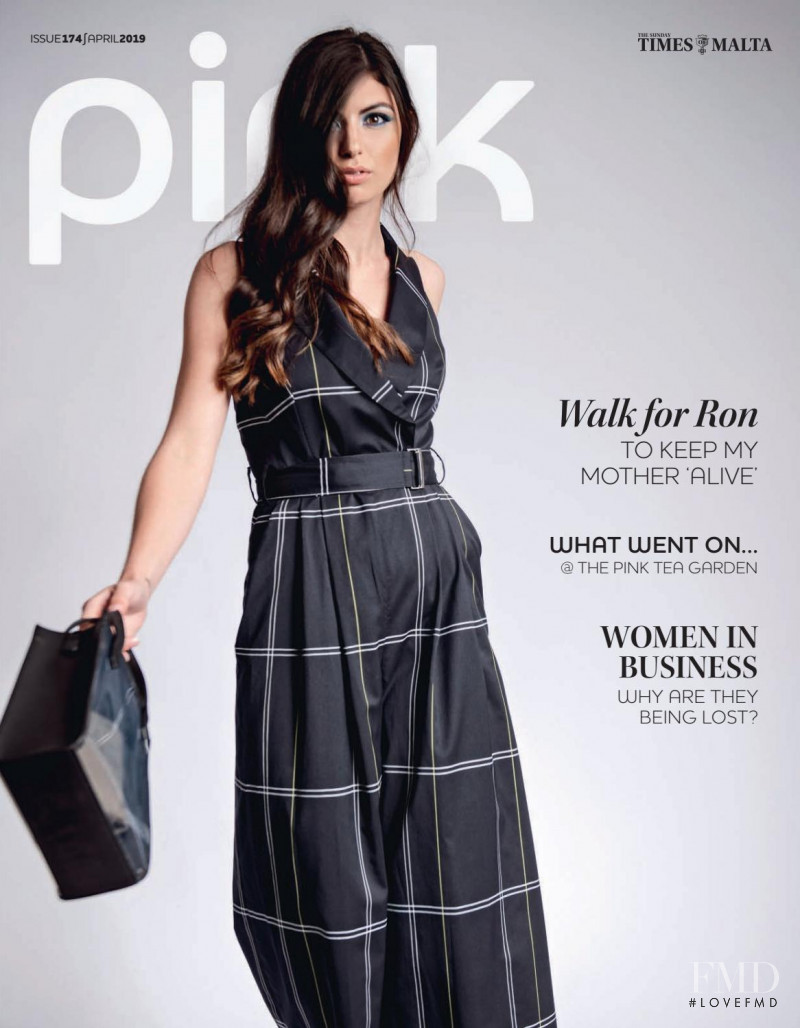 Alison Tabone featured on the Pink Malta cover from April 2019