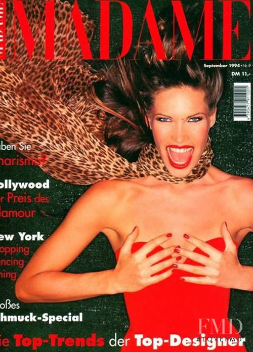 Laurence Treil featured on the Madame cover from September 1994