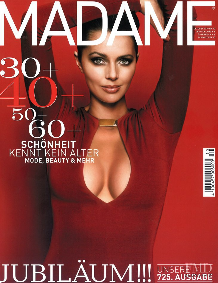 Heather Stewart-Whyte featured on the Madame cover from October 2010