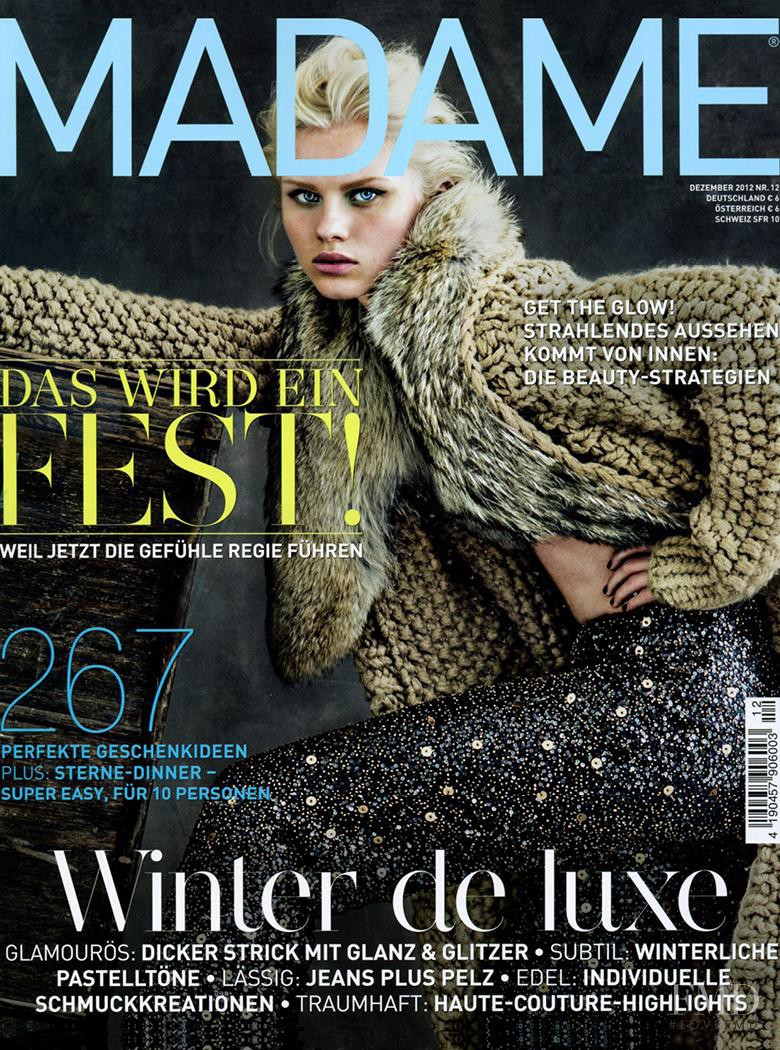 Lovisa Ekholm featured on the Madame cover from December 2012