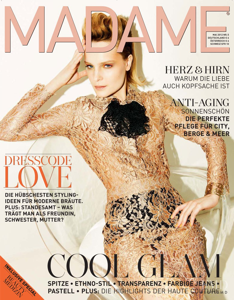Charlotte Tomaszewska featured on the Madame cover from May 2012