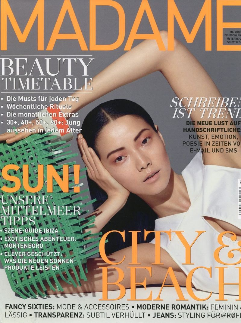 Jay Shin featured on the Madame cover from May 2013