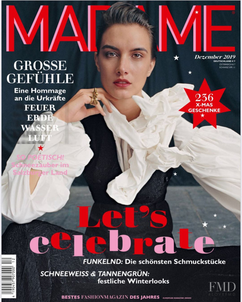 Ronja Furrer featured on the Madame cover from December 2019
