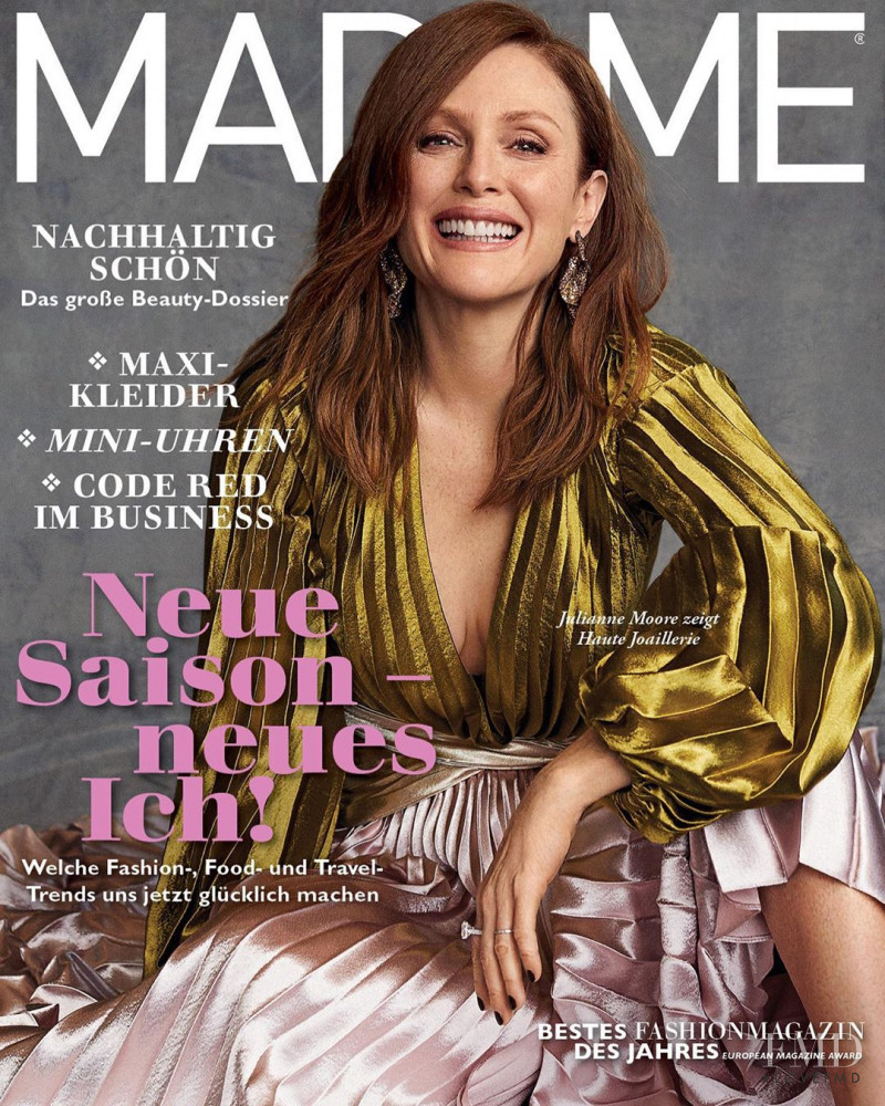 Julianne Moore featured on the Madame cover from September 2019