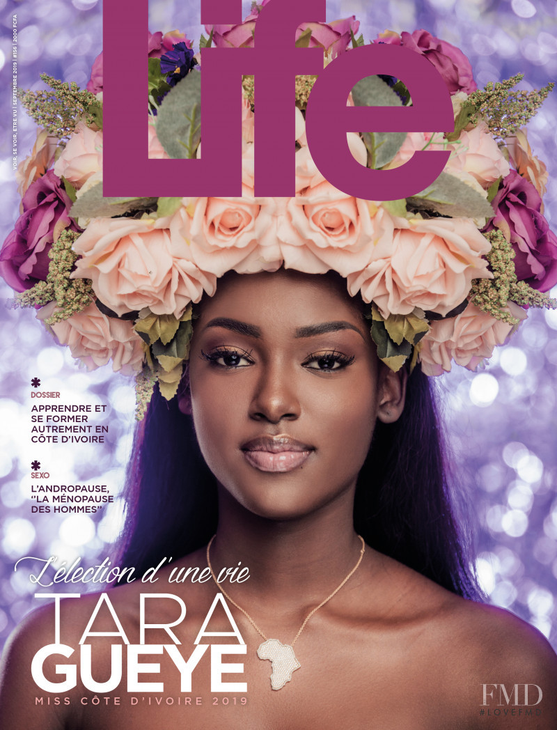 Tara Gueye featured on the Life Ivory Coast cover from September 2019