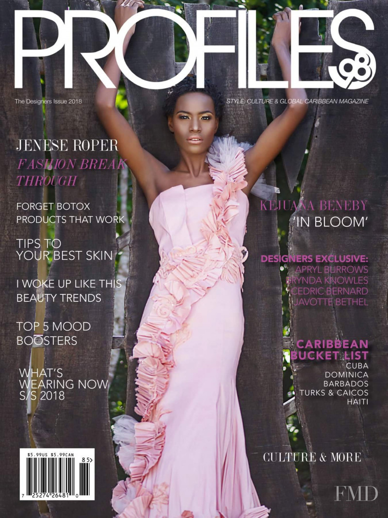 Jenese Roper featured on the Profiles98 cover from March 2018