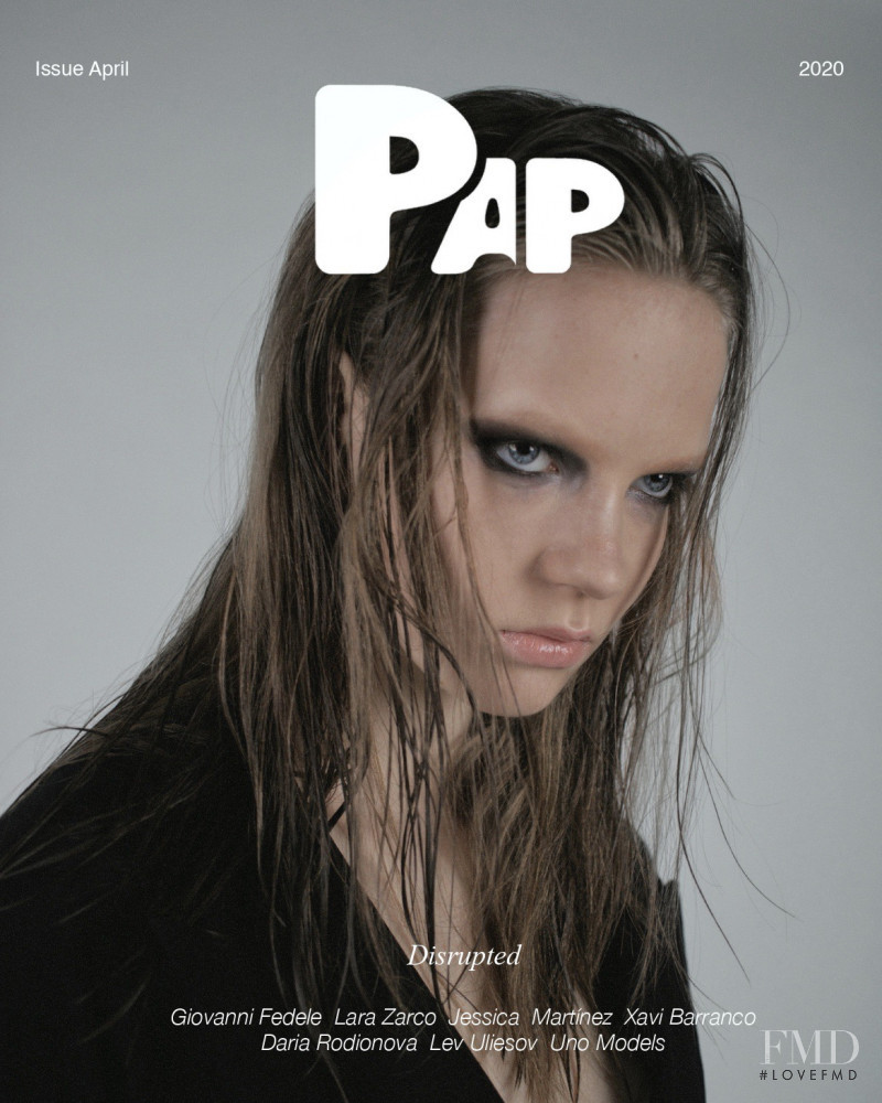 Daria Rodionova featured on the PAP cover from April 2020