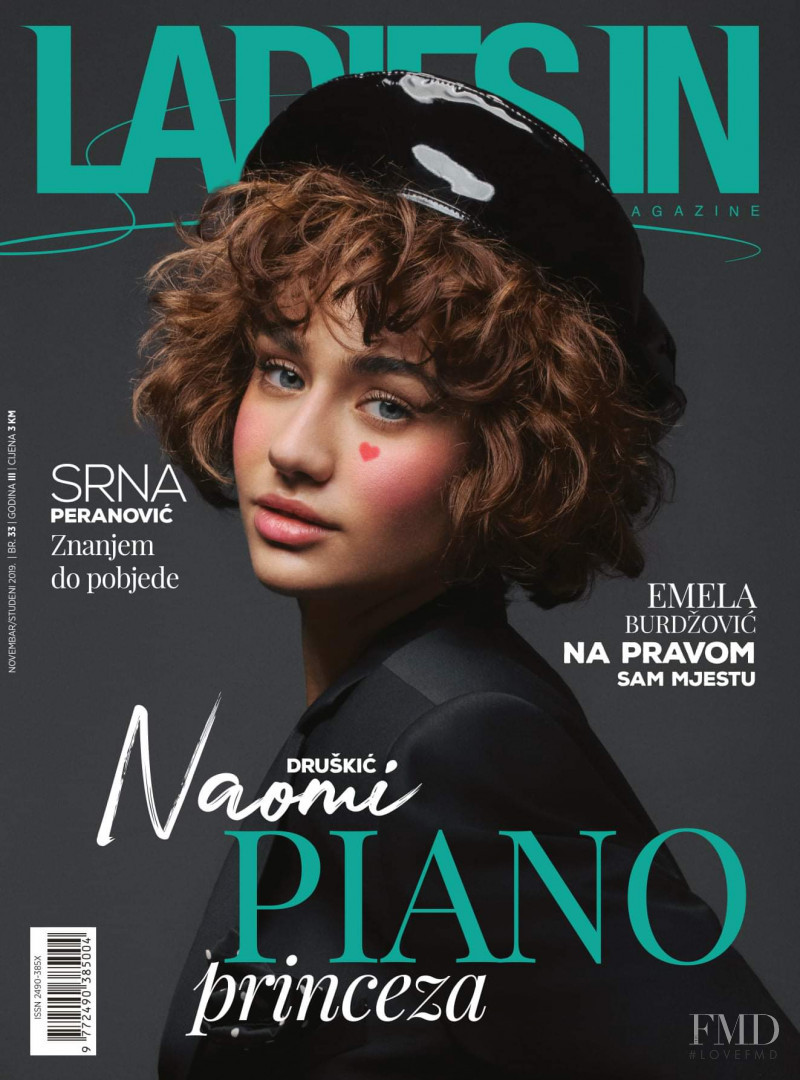 Naomi Druskic featured on the Ladies In cover from November 2019