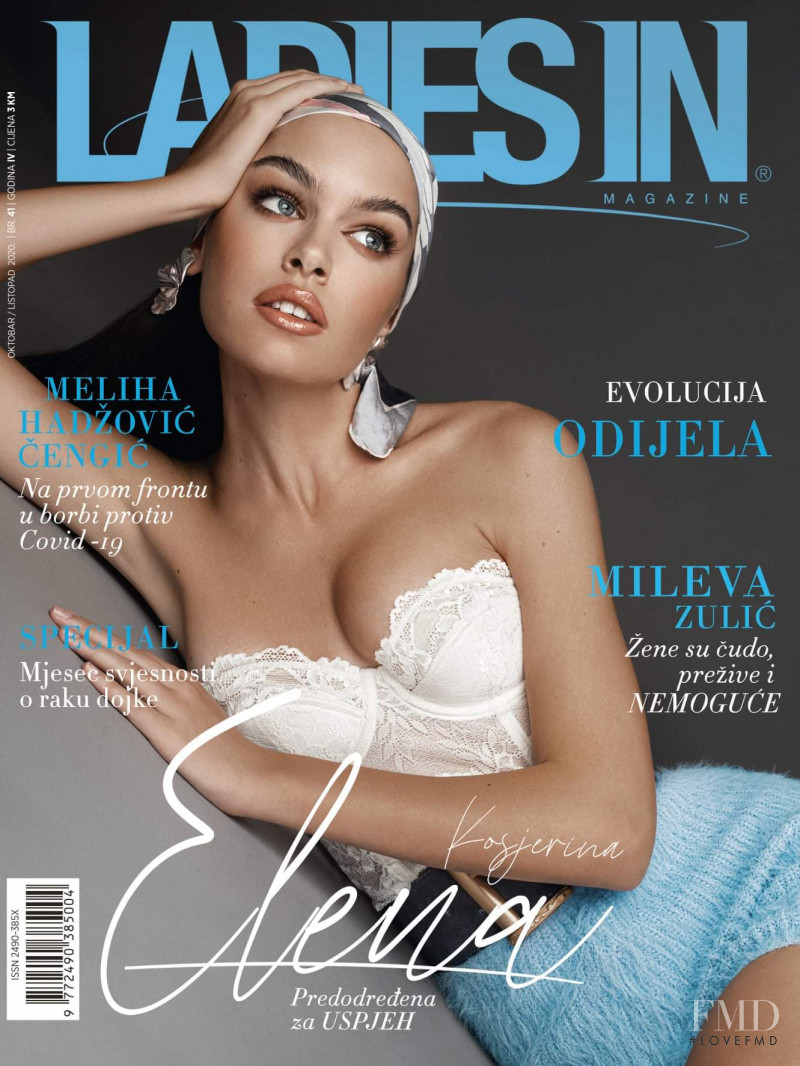 Elena Kosjerina featured on the Ladies In cover from October 2020