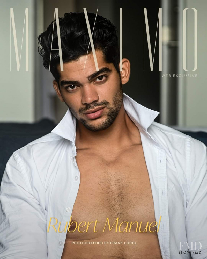 Rubert Manuel featured on the Maximo cover from November 2020