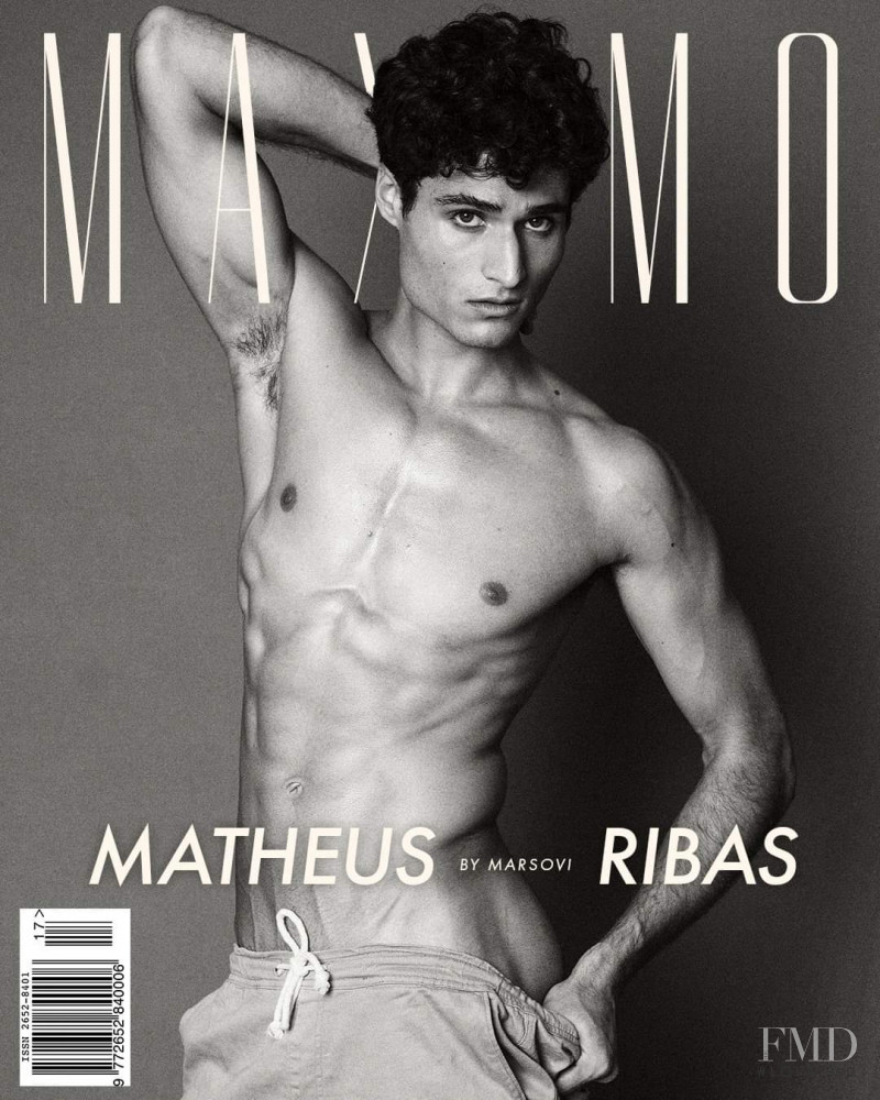 Matheus Ribas featured on the Maximo cover from March 2021