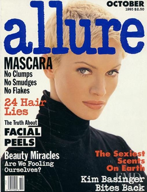 Beri Smither featured on the Allure cover from October 1993