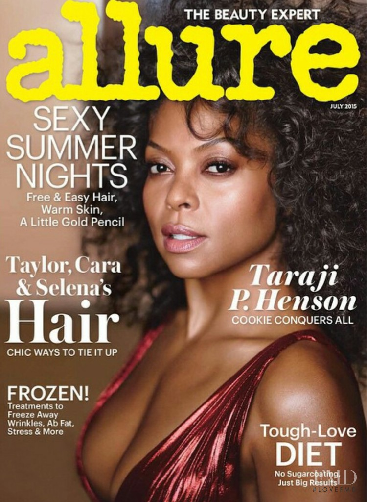 Taraji P. Henson featured on the Allure cover from July 2015