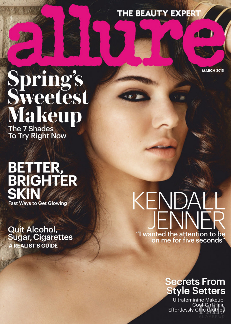 Kendall Jenner featured on the Allure cover from March 2015