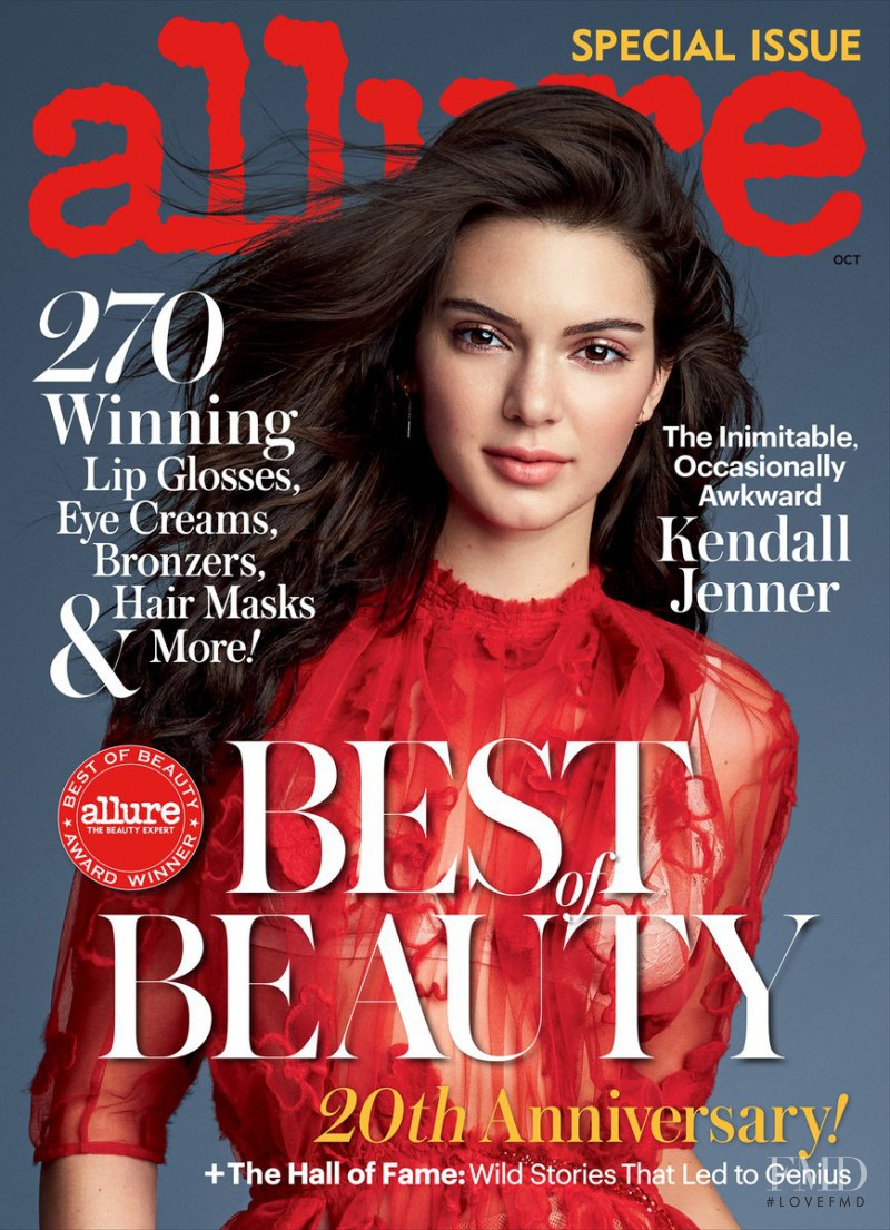Kendall Jenner featured on the Allure cover from October 2016