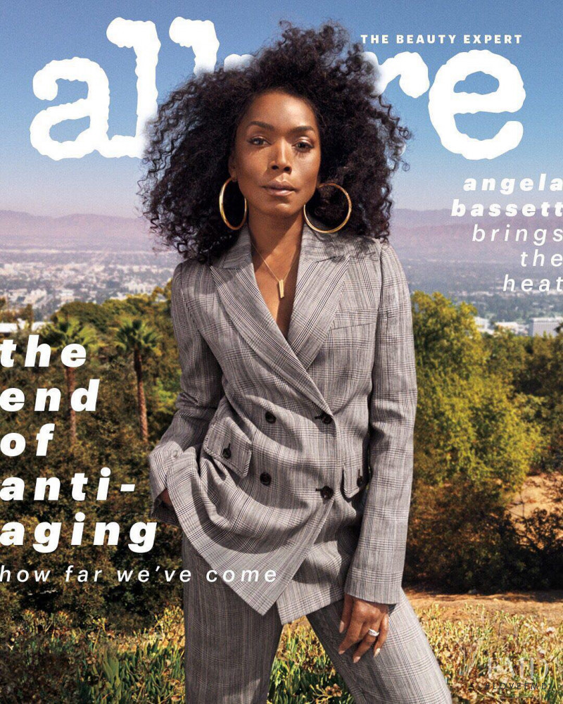 Angela Bassett featured on the Allure cover from November 2018
