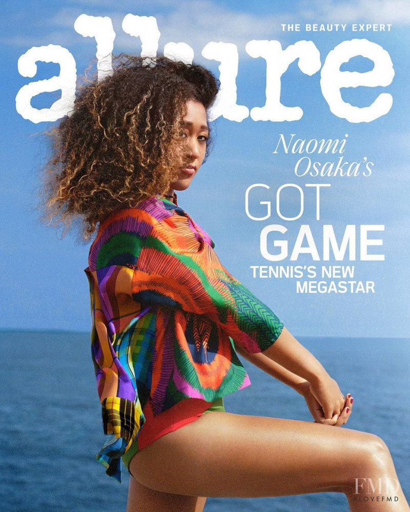 Naomi Osaka featured on the Allure cover from August 2019