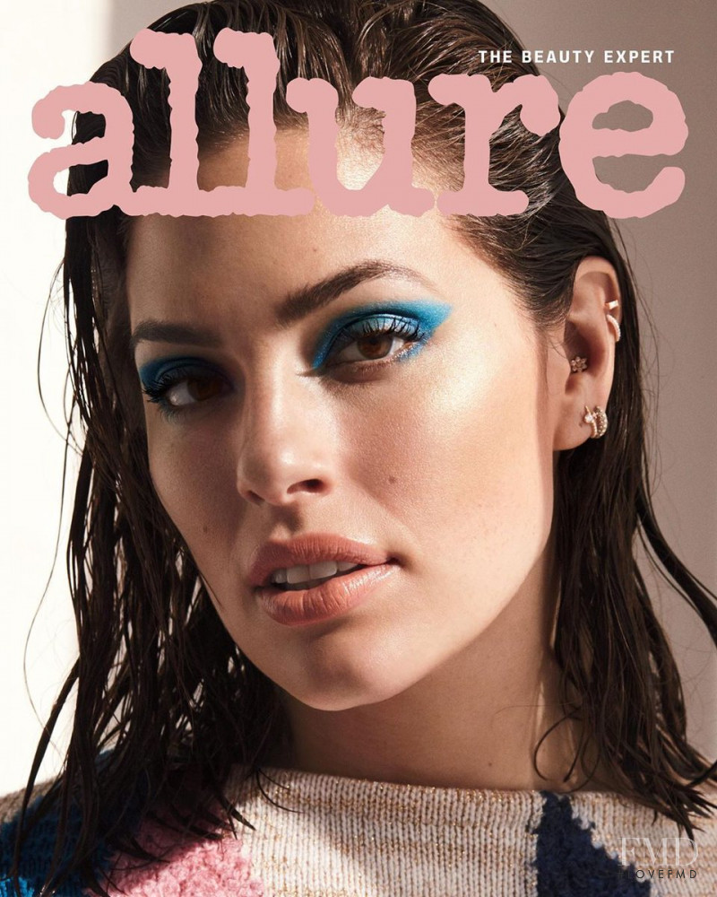 Ashley Graham featured on the Allure cover from July 2019