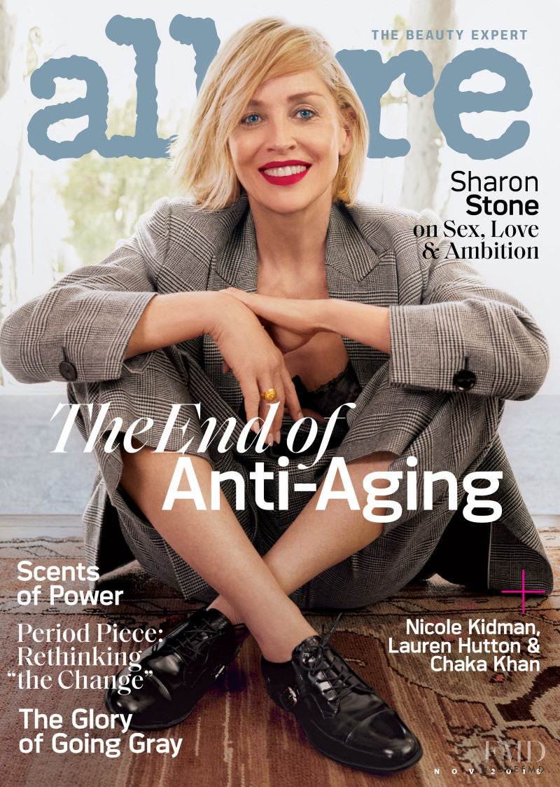 featured on the Allure cover from November 2019