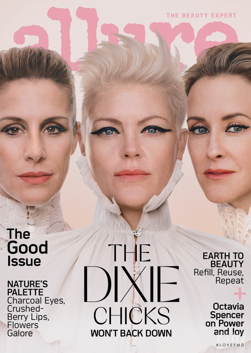 The Dixie Chicks featured on the Allure cover from April 2020