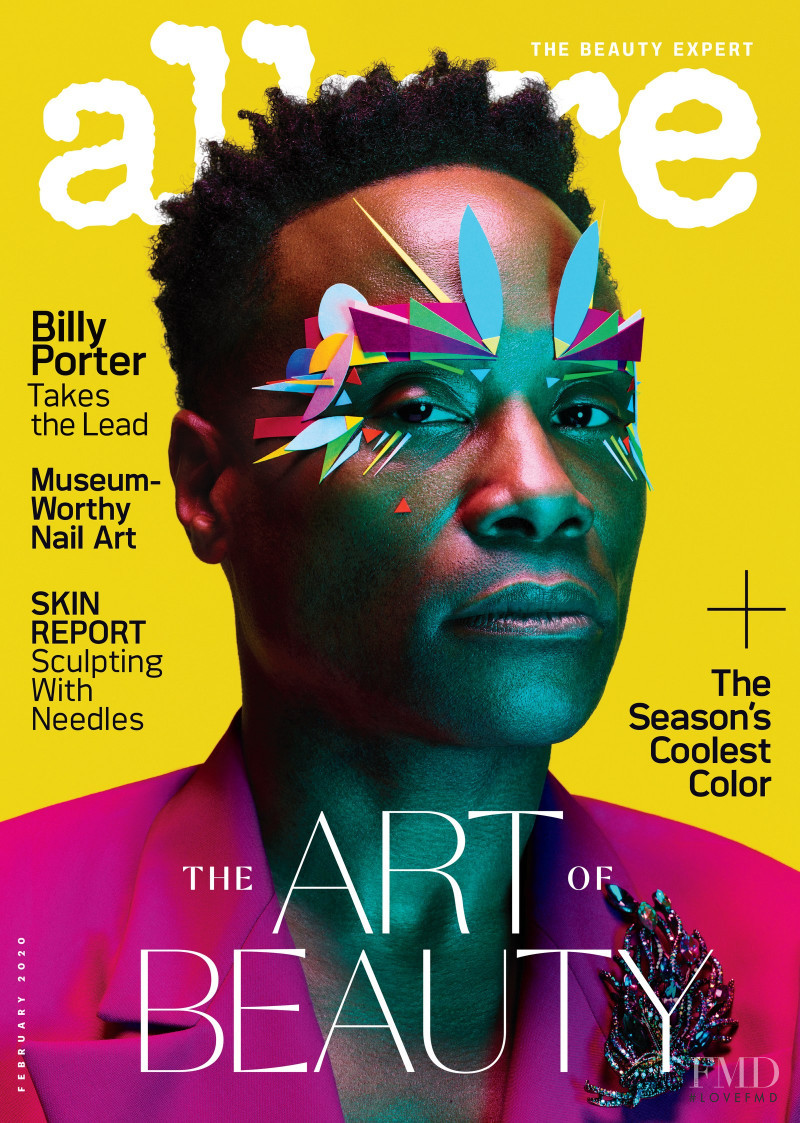 Billy Porter featured on the Allure cover from February 2020