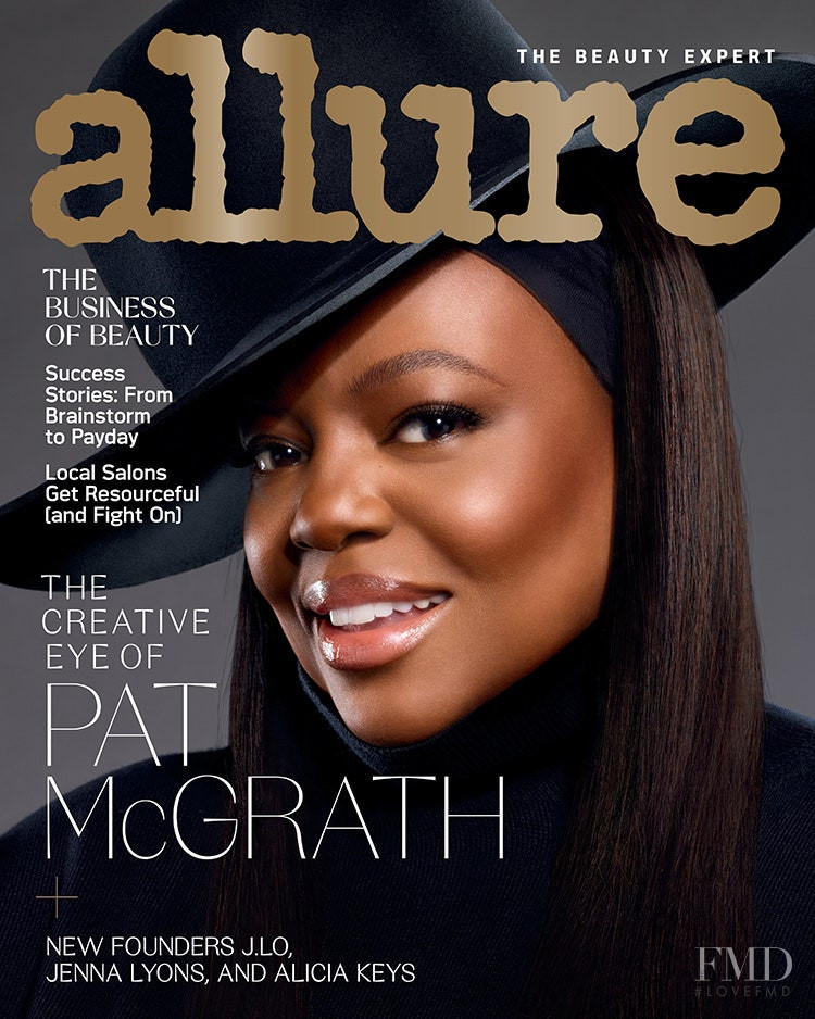 Pat McGrath featured on the Allure cover from February 2021