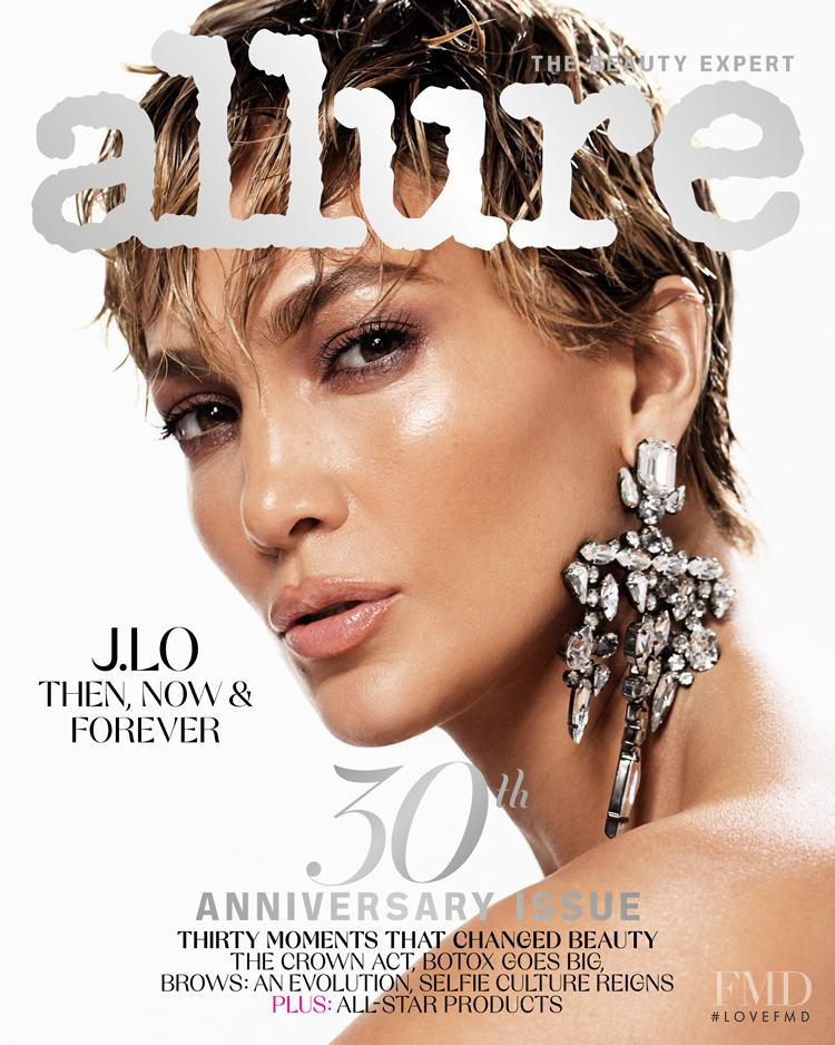 Jennifer Lopez featured on the Allure cover from March 2021