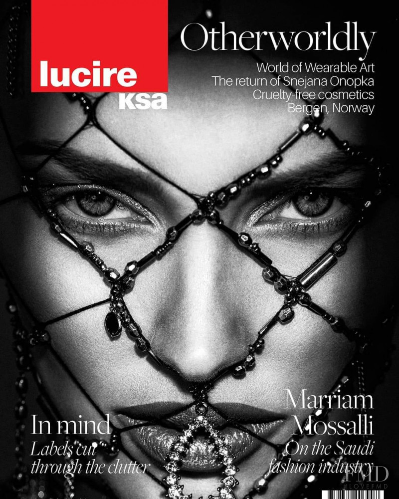 Pernilla Fransander featured on the Lucire KSA cover from December 2018