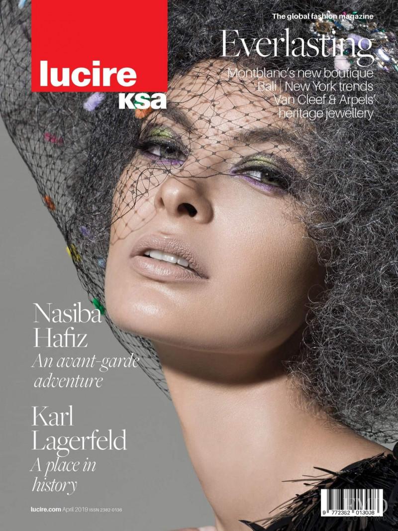Natalia Bogdanova featured on the Lucire KSA cover from April 2019