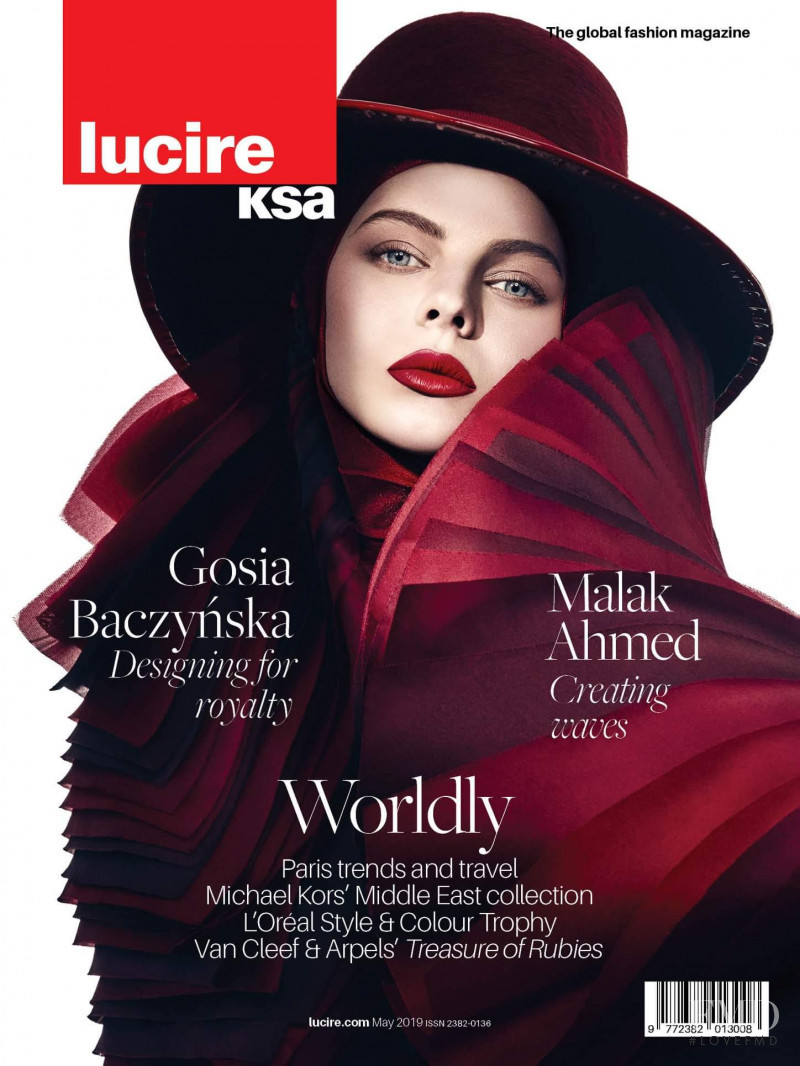 Julia Riethof featured on the Lucire KSA cover from May 2019