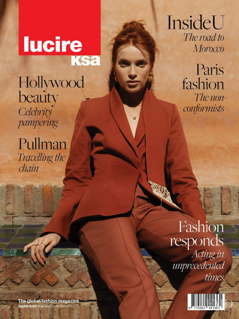 Daria Usova featured on the Lucire KSA cover from May 2020