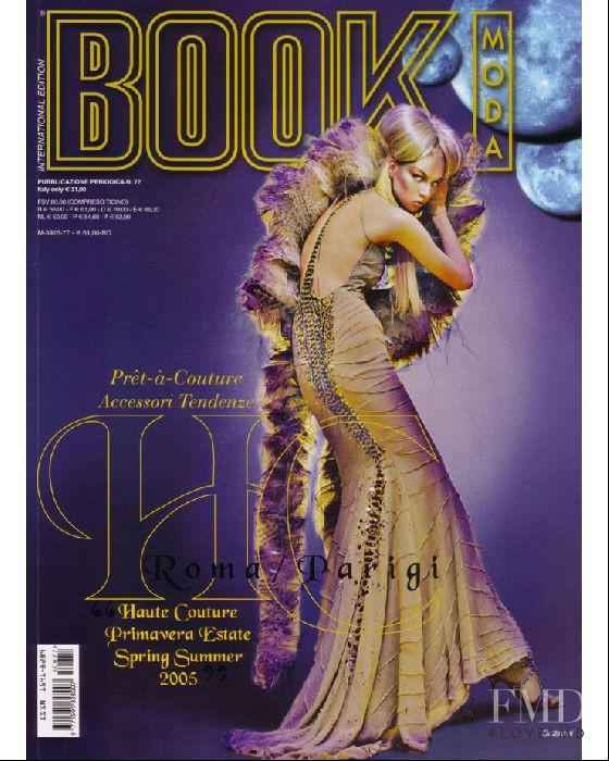 Ewa Agata featured on the BOOK Moda Haute Couture cover from June 2005