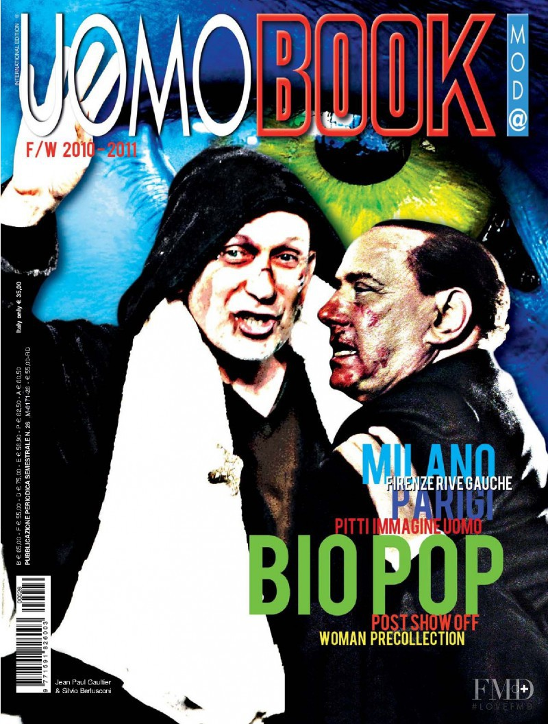 featured on the BOOK Moda Uomo cover from March 2010