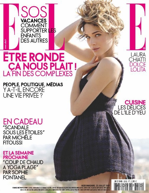featured on the Elle France cover from July 2007