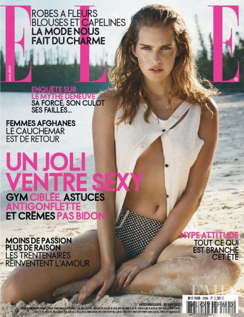featured on the Elle France cover from May 2007