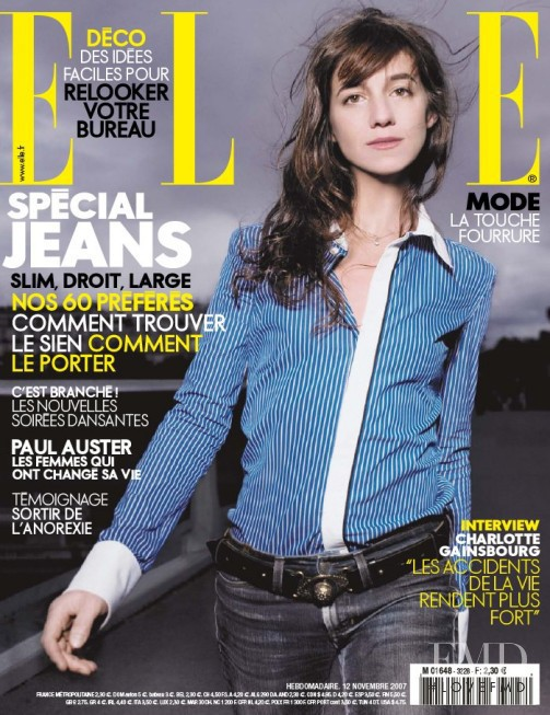 featured on the Elle France cover from November 2007