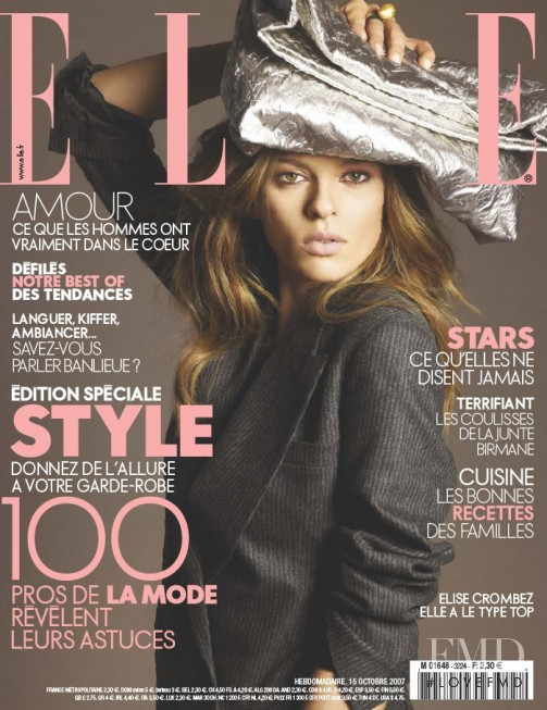 featured on the Elle France cover from October 2007