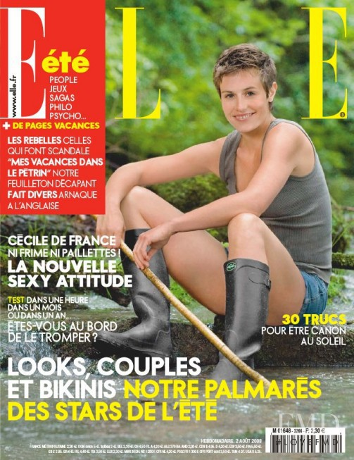 featured on the Elle France cover from August 2008