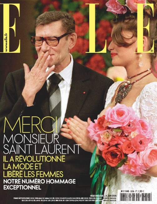 featured on the Elle France cover from June 2008