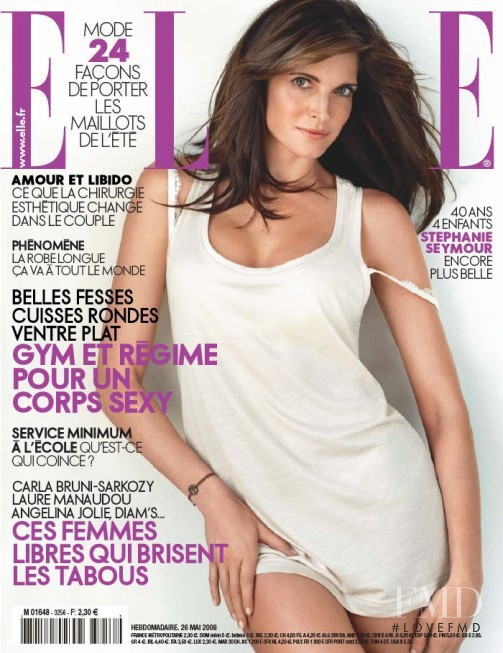 featured on the Elle France cover from May 2008
