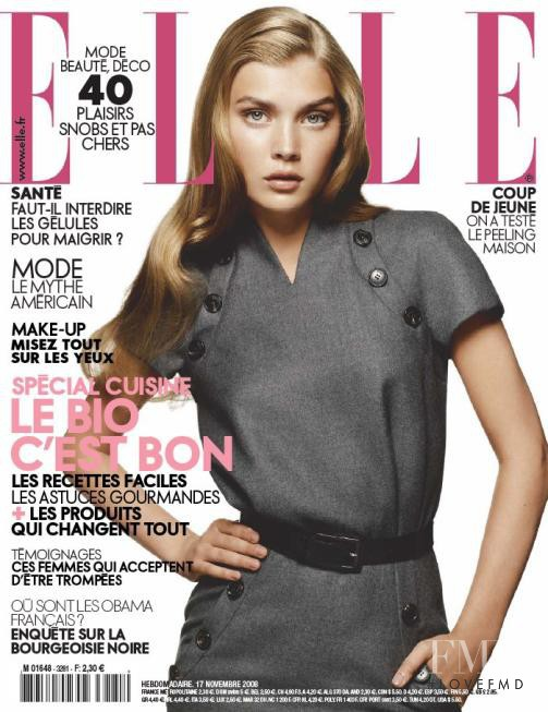featured on the Elle France cover from November 2008
