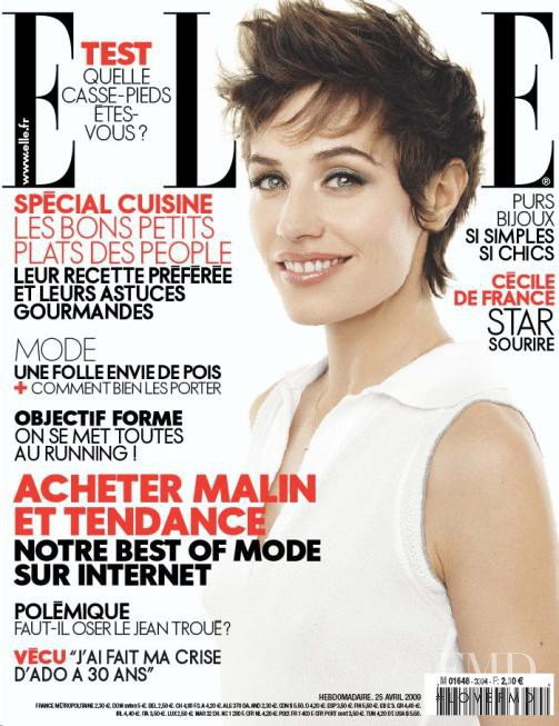featured on the Elle France cover from April 2009