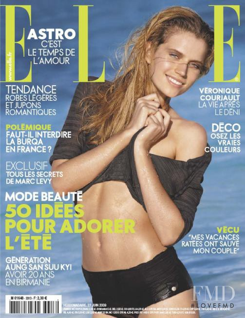 featured on the Elle France cover from June 2009