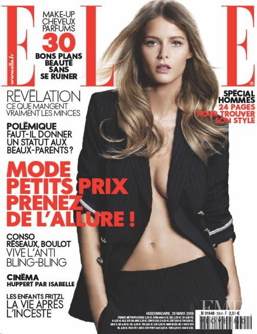 featured on the Elle France cover from March 2009