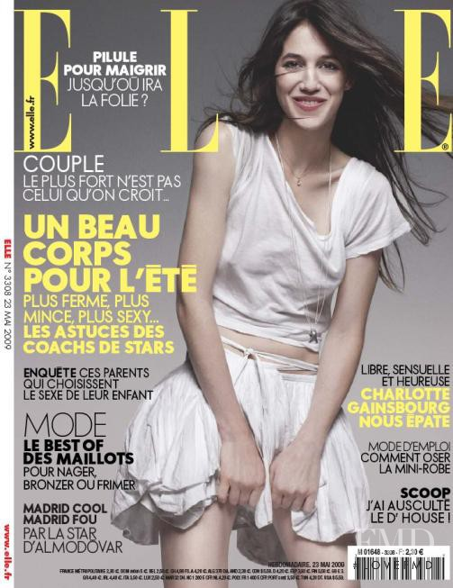 featured on the Elle France cover from May 2009
